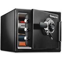 Sentry Fire-safe 0.8 Cu. Ft. Combination With Key, 16 3/8 X 19 3/8 X 13 3/4,