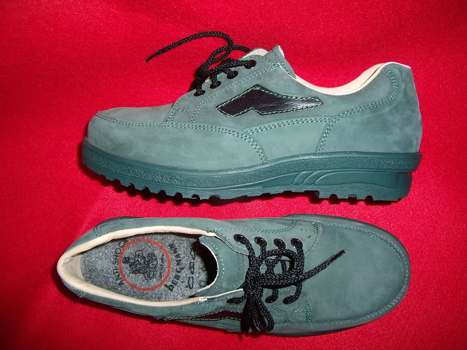 Lüxus laborales porque zapato eh talla 41   cuero auténtico   plantillas-lana  Metal-nariz. nuevo a009ad