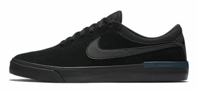 9a37fdf1107 Nike SB Koston Hypervulc Men s Suede Black Skate Shoes Brand New Size ...