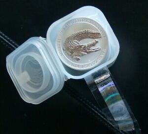 1-Silver-Saltwater-Crocodile-Australie-2014-1oz-0-999-UNC