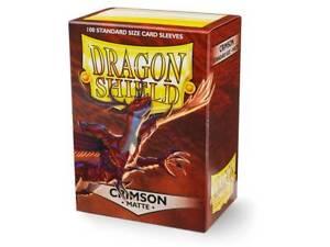 Dragon-Shield-Matte-Sleeves-Crimson-100ct