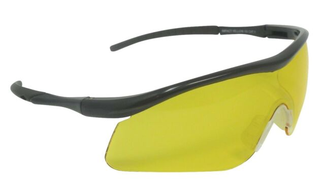 397f054515b Impact Shooting Safety Glasses Yellow Shatterproof Uv400 Lens for ...