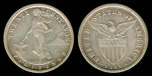 20-Centavos-1918-S-US-Philippine-Silver-Coin-Stock-2
