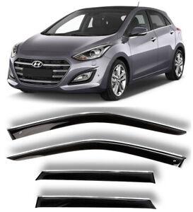 Car Shades PV HYI305B Set Suitable for Hyundai i30 5 Doors 2012-2016 6-Pieces