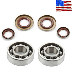 Crankshaft Bearing Oil Seal For Stihl 066 MS660 065 MS650 064 MS640 Chainsaw