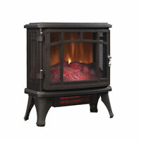 Duraflame Infrared Quartz Stove Heater With Flame Effect-bronze-new
