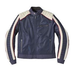 Indian Motorcycle Men's Mesh Arizona Jacket, Blue