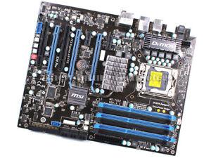 MSI X58 Pro SLI Intel Windows Vista 32-BIT