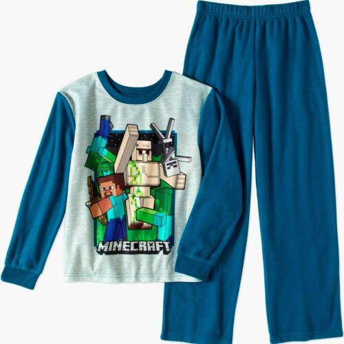 MineCraft Small Boy 2 Piece Set Sleepwear Pajamas Flannel New