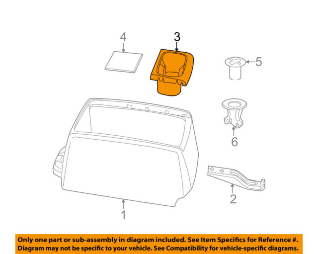 GM OEM Center Console-Cup Holder 23467147