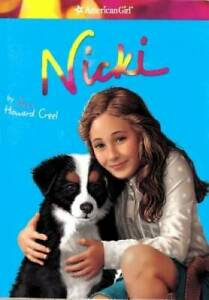 Nicki-American-Girl-Quality-Paperback-By-Howard-Creel-Ann-ACCEPTABLE