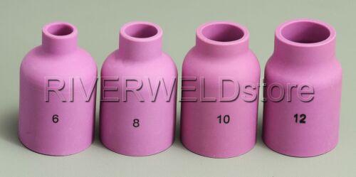 57N75 57N74 53N87 53N88 TIG Alumina Nozzle Gas Lens KIT fit SR WP 17 18 26 4PK