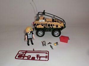 Playmobil  Auto Jeep Amphibienfahrz<wbr/>eug Dinosaurier Dino Forscher