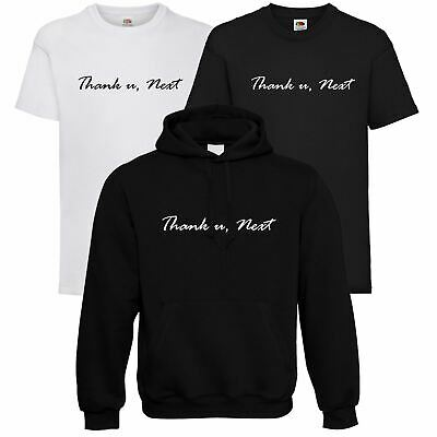 New Ariana Grande Thank U, Next Slogan Hoodie & T-shirt Sweetener Love Music Top