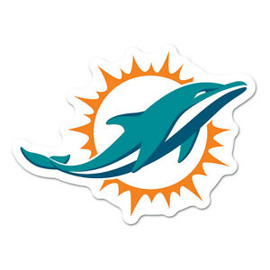 2cafe228 Details about Miami Dolphins Logo on the GoGo [NEW] NFL Car Auto Emblem  Sign Truck Grill