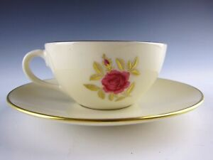 Lenox-China-ROSELYN-Cup-and-Saucer-Set-s-EXCELLENT