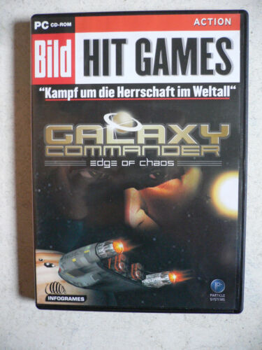 1 von 1 - Galaxy Commander - Edge Of Chaos (PC, 2002, DVD-Box) Action Simulation Kultspiel