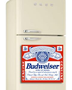 Etiqueta de la cerveza Lager Color Bieri Moretti logotipo Wrap Nevera-Congelador Pegatina O Pared