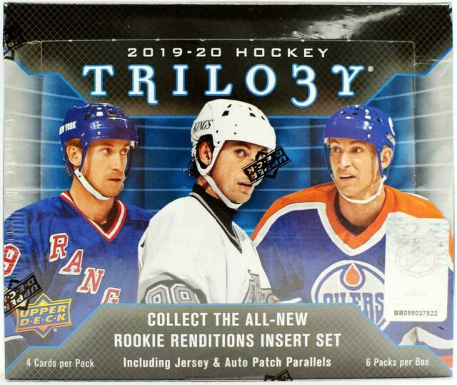 2019-20 Upper Deck Trilogy Hockey Hobby Box - Factory Sealed