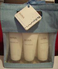 AHAVA Dead Sea Mineral Bath Kit ( Body Lotion,Hand Cream,Foot Cream,Bath Salt)