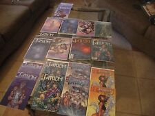 Michael Turner FATHOM LOT OF 20 Comic Book some Limited Editions in Sleeves 1999