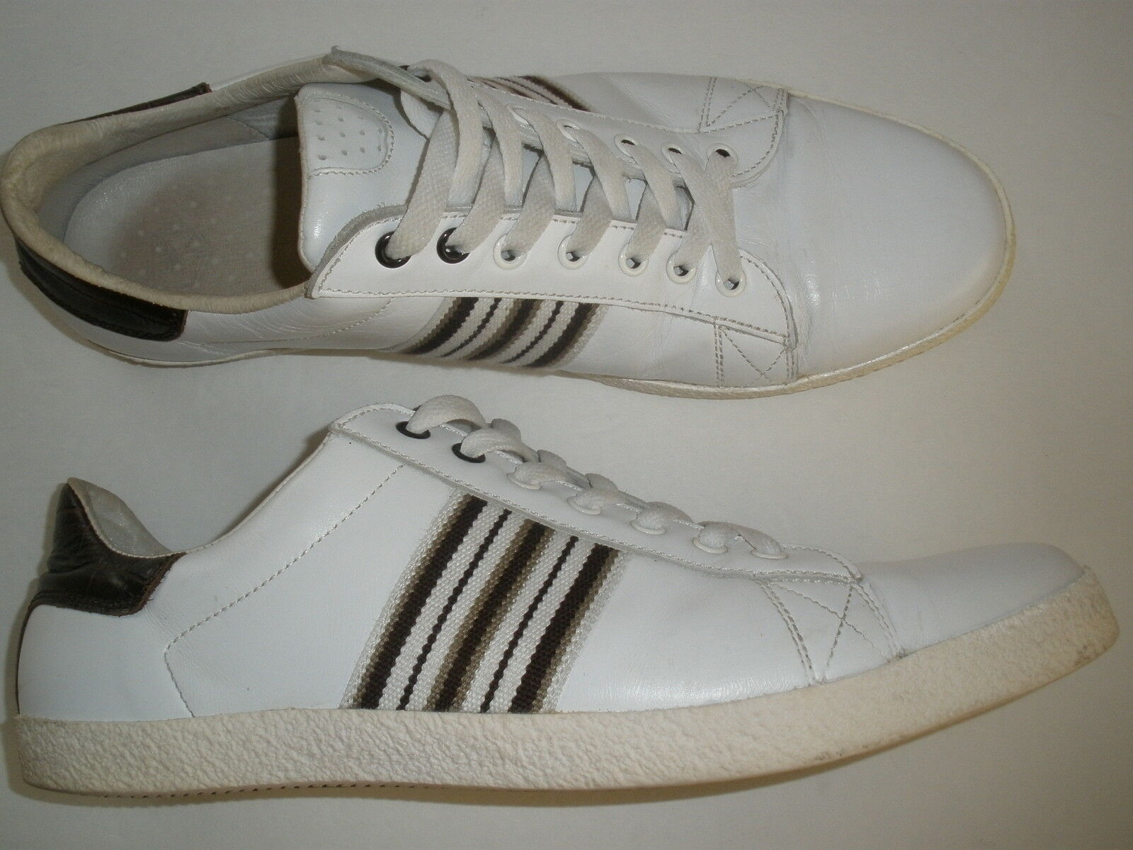 ZARA LEATHER SNEAKERS SNEAKERS SNEAKERS  US 12 SALE  UNIQUE HOT MADE IN SPAIN 0e27e5