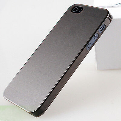 Hot Sales Black 0.5mm Ultra Thin Matte Back Hard Case Cover Skin For iPhone 5 5G