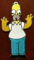 The Simpsons Patch Brand Homer Simpson