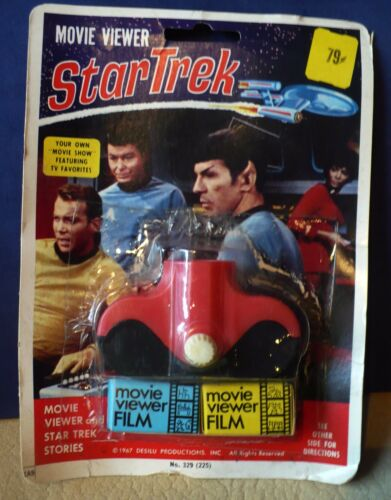VINTAGE 1967 STAR TREK MOVIE VIEWER #329225 NEW MOC