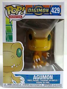 In Stock Funko Pop Digimon Quot Agumon Quot 429 Vinyl Figure