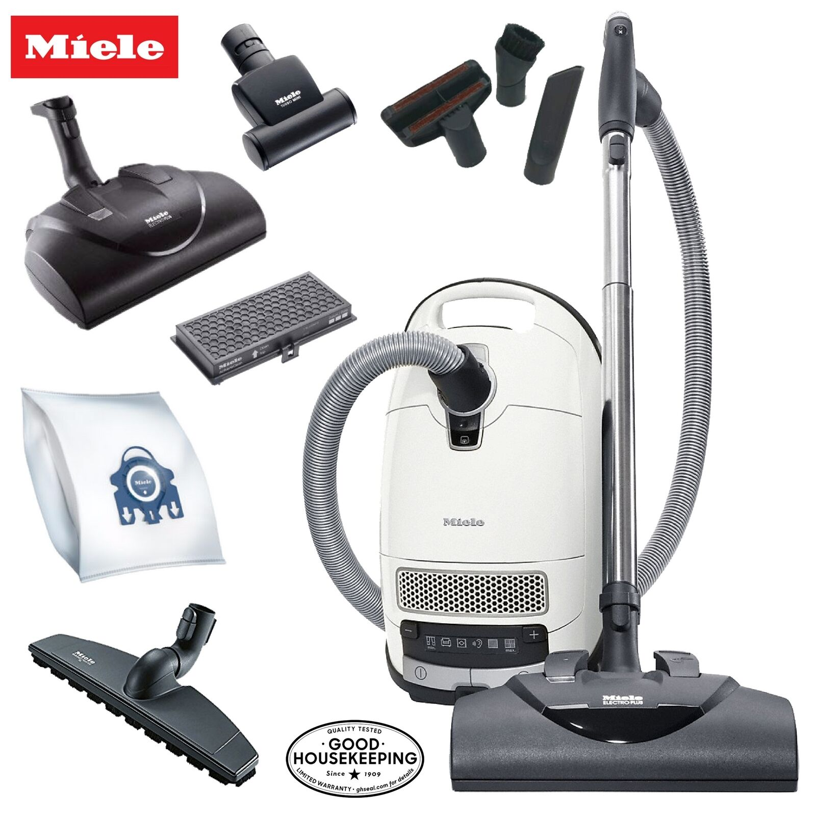 Miele Cat & Dog C3 Complete Canister Vacuum Cleaner - A Must Have Pet Owners