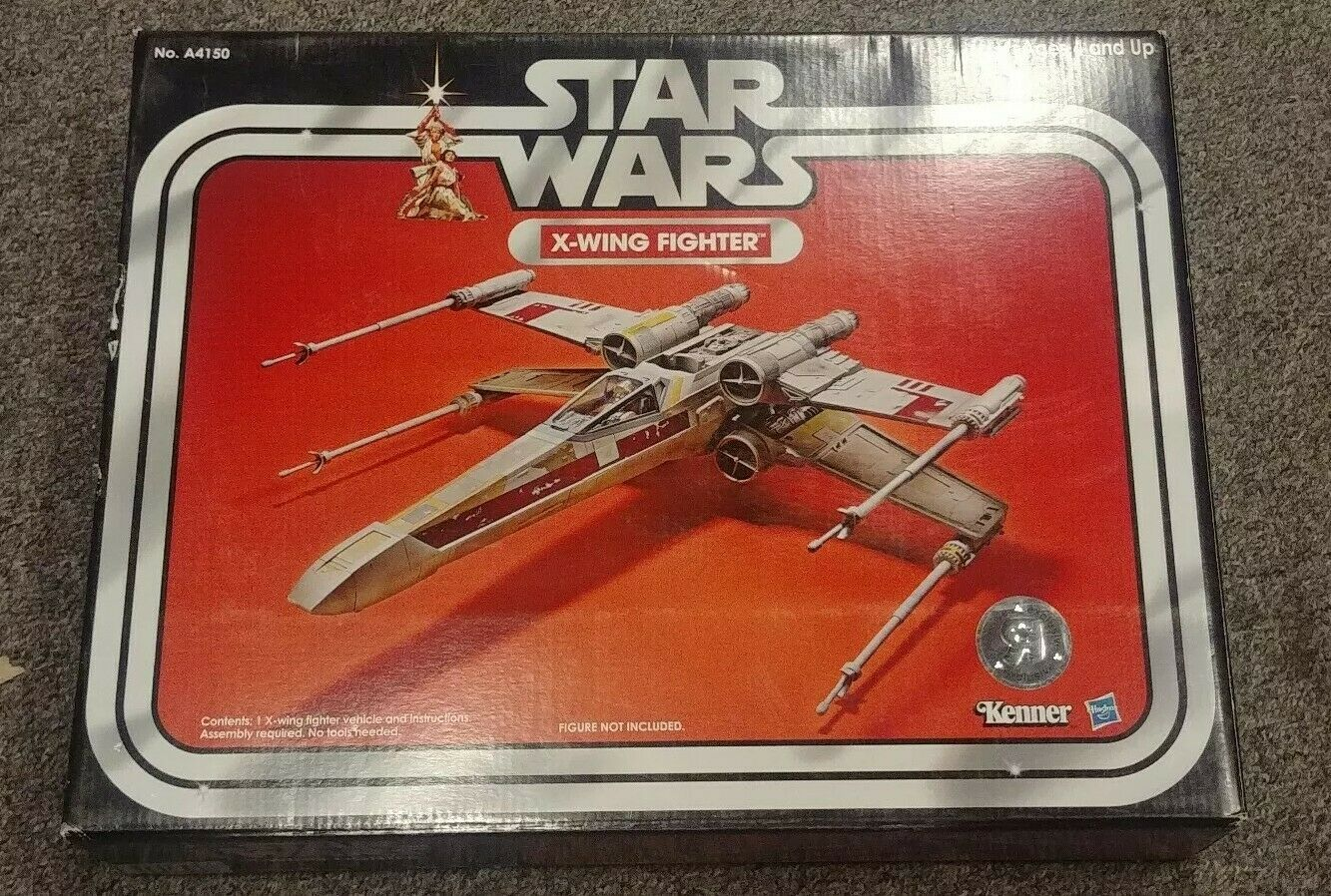NEW & SEALED  STAR WARS X-WING FIGHTER VINTAGE COLLECTION 2013 KENNER A4150 18-5