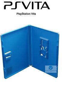 Bien Informé 100 Playstation Ps Vita Jeu Vidéo Boîtier De Rechange De Haute Qualité Housse Amaray-afficher Le Titre D'origine Excellente Qualité