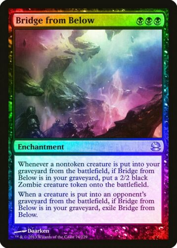 Bridge from Below FOIL Modern Masters PLD-SP Black Rare MAGIC MTG CARD ABUGames