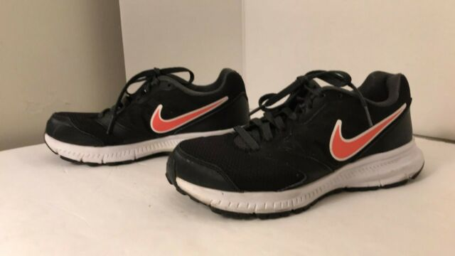 Nike Downshifter 6 Black Mesh Running walking tennis Shoes Womens Sz 6.5
