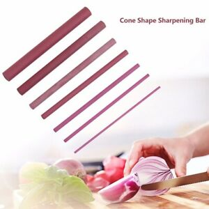 3000 Grits Kitchen Whetstone Abrasive Polishing Cone Ruby Oil Stone Sharpener.