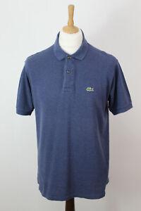 Lacoste-Bleu-Polo-T-Shirt-Poitrine-Taille-42-034