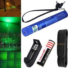 Powerful Military 532nm Laser Pointer Pen 5mw Green Light Adjustable Beam Lazer