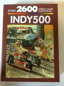 Indy 500 - Atari 2600 - Replacement Case - No Game