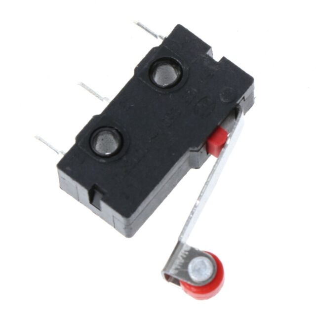 5x//Set Micro Roller Lever Arm Open Close Limit Switch KW12-3 PCB Microswitch G3