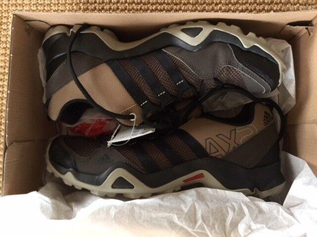 ADIDAS AX2 Brown Trail Running Sneakers 9.5 NIB S75743