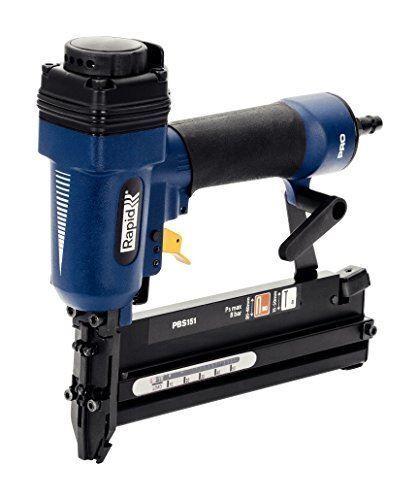 Rapid Pneumatic Staple and Nail Gun for Precision Work, Airtac, Pro, PBS151, 500