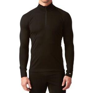 60062dc3f31 Icebreaker Mens Mondo Long Sleeve Half Zip 200g Merino Wool Top ...