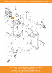YAMAHA Sensor 2GB-83755-00 OEM WR450 WR250F Speed