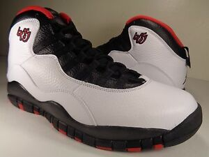 464b509c812 Nike Air Jordan Retro 10 Double Nickel White Black Bulls SZ 10.5 ...