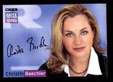 Christin Baechler RTL  Autogrammkarte TOP ## BC 79900 D