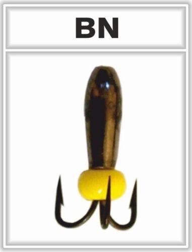 Diam:2.0-4.2 mm//Weight:0.25-1.78g 5 NEW #30-DICKENS aperture Tungsten Ice Jig