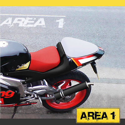 Bj. 2001-2005 rot // schwarz Sitzbezug Set Aprilia RS 125