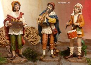 Set-3-personaggi-musicisti-Presepe-25-cm-in-resina-by-Paben