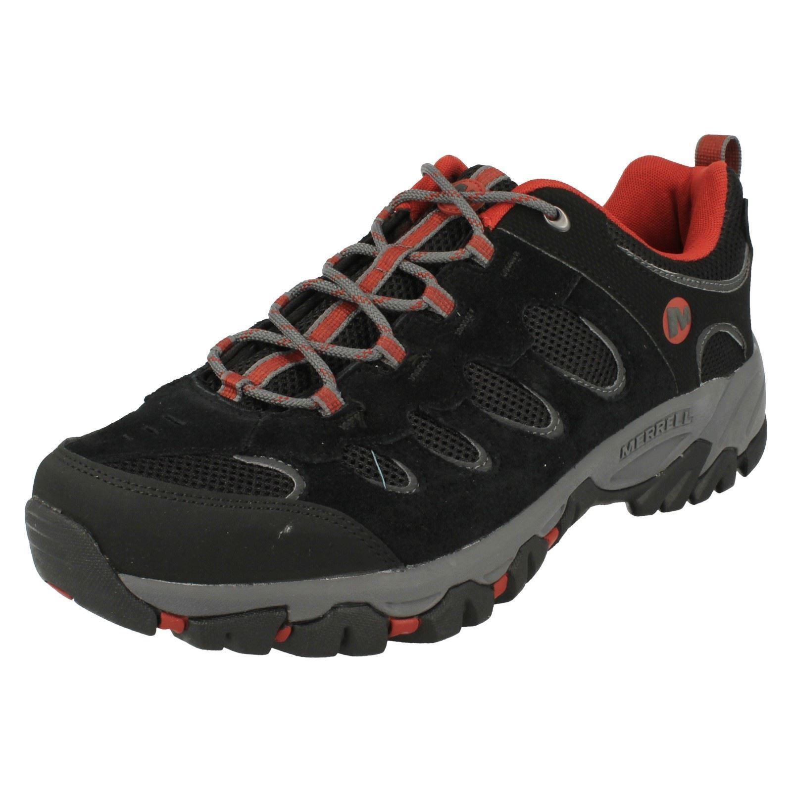 Mens Merrell Walking Trainers 'Ridge Pass'